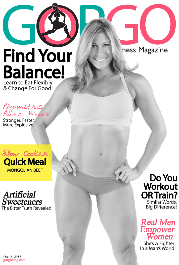 GORGO WOMEN'S FITNESS MAGAZINE